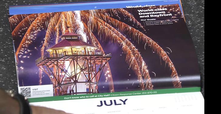 City of Erie Produces 2021 Wall Calendar   Erie News Now | WICU