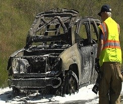 Car Fire Snarls Traffic - Erie News Now | WICU and WSEE in Erie, PA