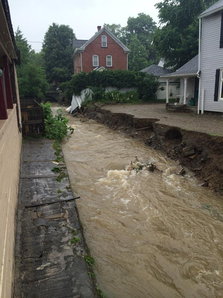 Severe Storms Cause Heavy Flooding In Titusville Erie
