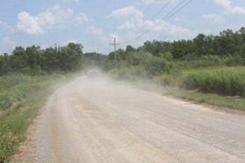Dangerous Road Dust Causing Health Problems, Claim Waterford